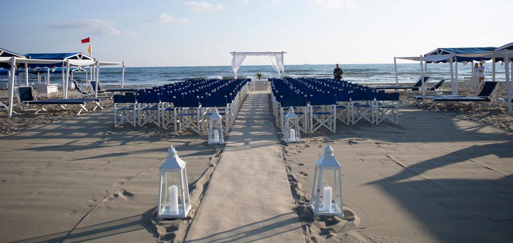 Matrimonio in spiaggia a Forte dei Marmi | Augustus Hotel