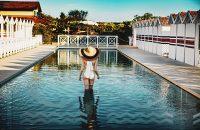 Augustus Hotel & Resort - piscina sulla spiaggia